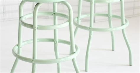 mint green counter stools mint barstools fresh mint cottage pastel