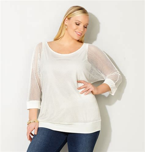 Sabrina Flare Farah Top trendy plus size clothing guide