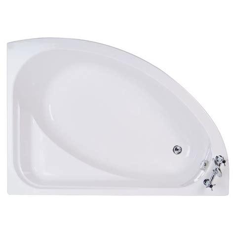 offset corner shower bath vienna 1500 x 1050 offset right corner bath