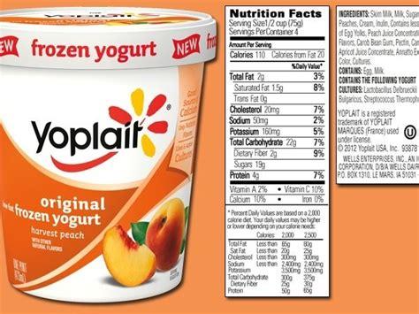 yoplait light yogurt nutrition yoplait yogurt nutrition dandk