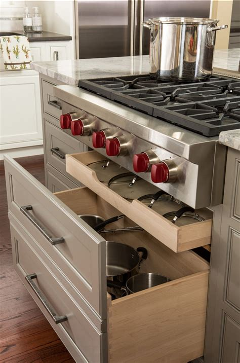 kitchen cabinet storage ideas great kitchen cabinet ideas in this kitchen these deep drawers