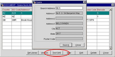 Ocis Search Test Address Software For Address Searching