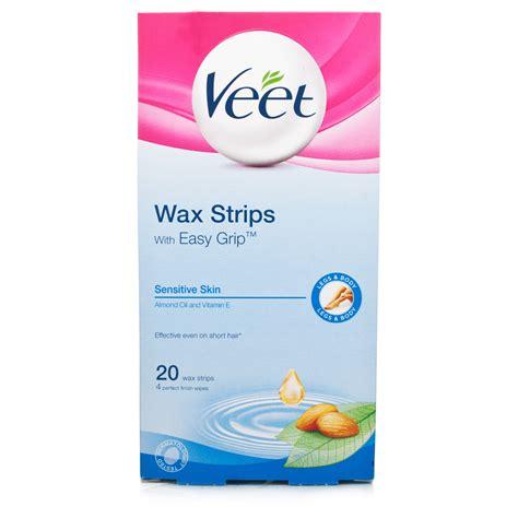 Veet Wax Strips Original Malaysia veet ready to use wax strips for sensitive skin ebay
