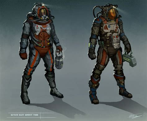 Kaos 3d Anime Vest Armor Grey 30 space suit designs by anthon500 deviantart on