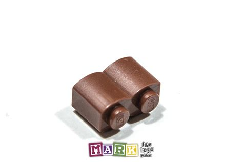 Lego Parts Lego Part 30136 4519970 Brown Palisade Brick 1x2 lego 30136 1 215 2 palisade brick 4211180 ebay