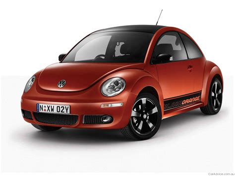 volkswagen orange volkswagen beetle blackorange limited edition photos 1