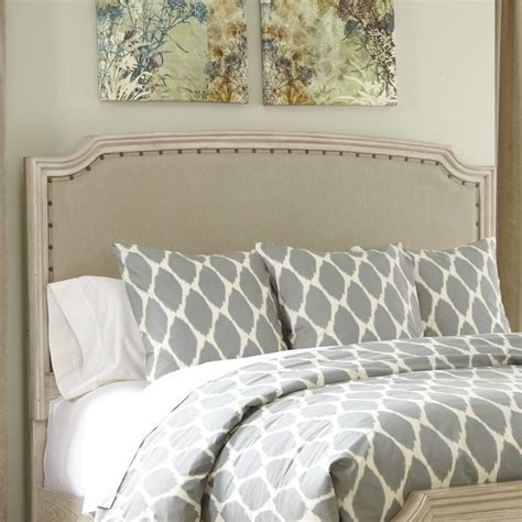 king panel headboard ashley demarlos upholstered king california king panel
