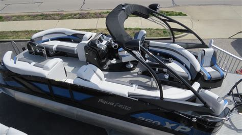 aqua pontoon boats 2016 new aqua patio 250 xp pontoon boat for sale osage