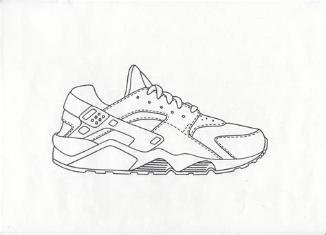 How To Draw Nike Air Max 90