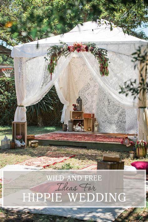 30 Wild And Free Hippie Wedding Ideas   Wedding