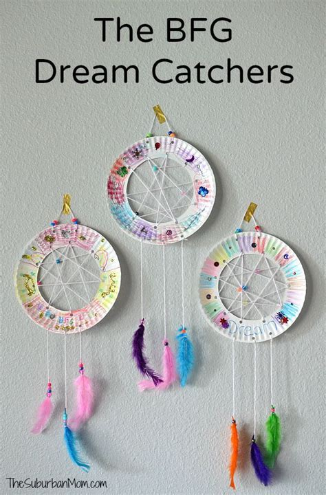 crafts for toddlers easy the bfg paper plate catchers craft the suburban