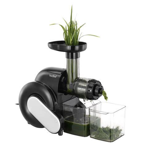 Juicer Wheatgrass vonshef wheatgrass fruit vegetable juicer masticating juice extractor ebay