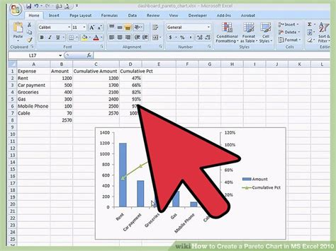 diagramme pareto excel 2010 diagram pareto excel 2007 image collections how to guide