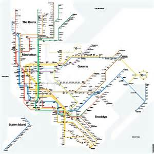 Subway Map Mta by Mta Subway Map Nyc Pinterest