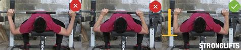 the right way to bench press how to bench press with proper form the definitive guide stronglifts