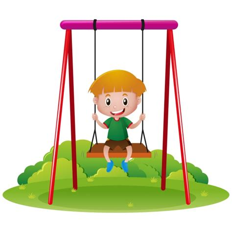 play boy swing videos boy playing in a swing vector free download