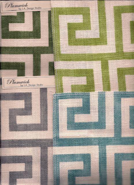 key pattern fabric plumwich fabric by j a design studio pattern greek key