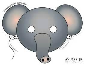 Elephant Mask Template by Elephant Mask Template Www Imgkid The Image Kid