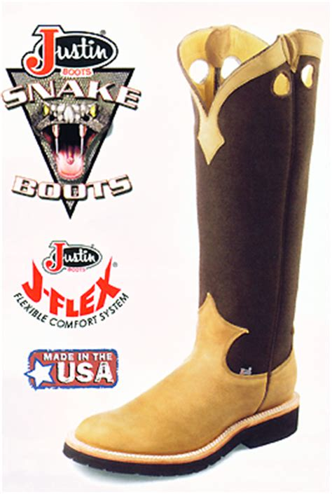Justin Western Boots - 2113 Snake Boots Justin Boots For Men