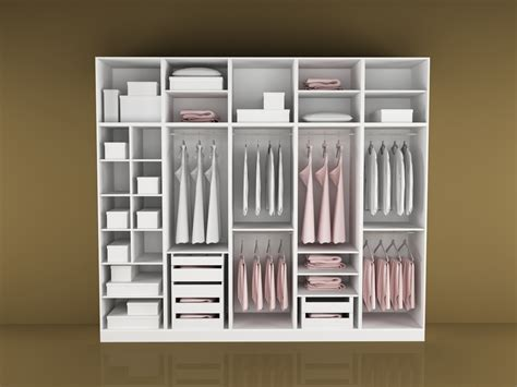 White Home Interior Design by How To Make A Wardrobe To Stay Healthy And Clean