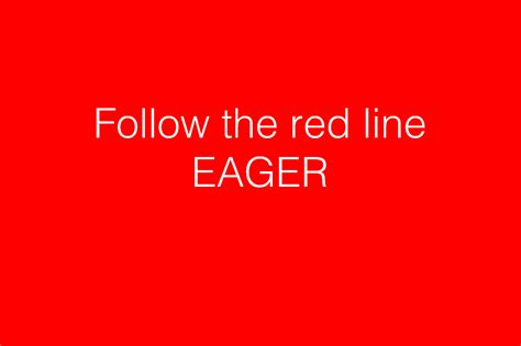 goulmydesignfollow the line eager goulmy design