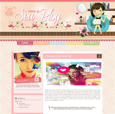 templates para blogger unisex essence layouts layout free blog feminino 1 blogger