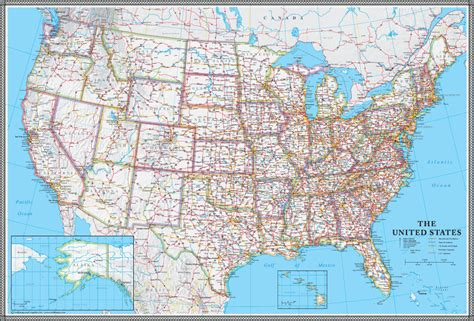 united states of america usa large wall map poster swiftmaps united states classic executive wall map mural