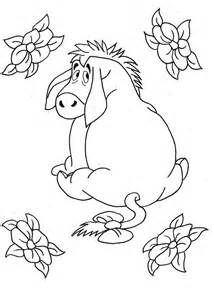 eeyore coloring pages free printable eeyore coloring pages for
