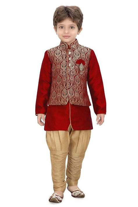 south indian dress for baby boy boys ethnic indian sherwani by