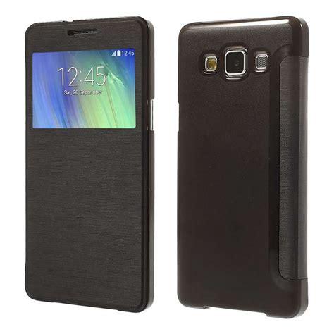 Murah Flip Cover S View Samsung Galaxy A8 A800 2015 Auto Lock Fli aliexpress buy for samsung galaxy a8 sm a800f ultra flip view window leather phone
