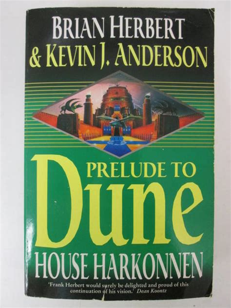dune house harkonnen science fiction fantasy prelude to dune house harkonnen brian herbert kevin j