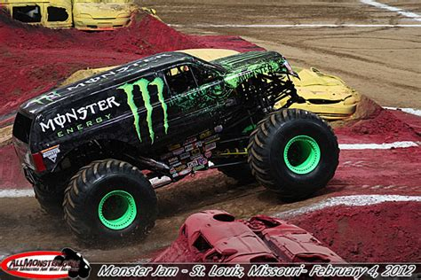 st louis monster truck st louis missouri monster jam february 4 2012