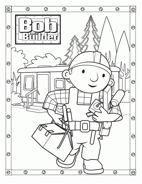 free online coloring page generator free printable bob the builder coloring pages for kids