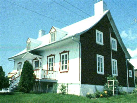 Homes With Front Porches uwec geog188 vogeler french canada rural house types