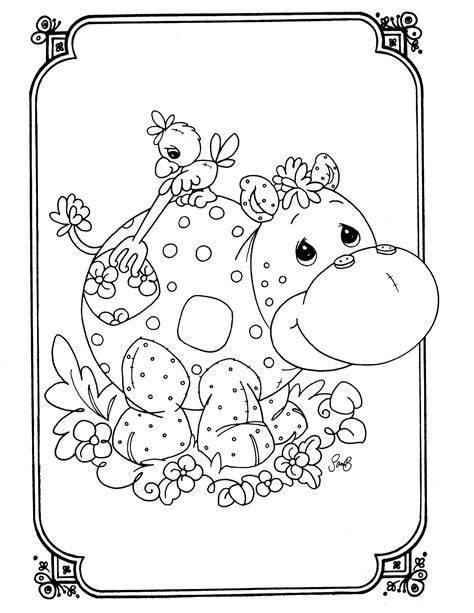 Precious Moments Animal Coloring Pages Precious Moments 19 Coloringcolor Com by Precious Moments Animal Coloring Pages