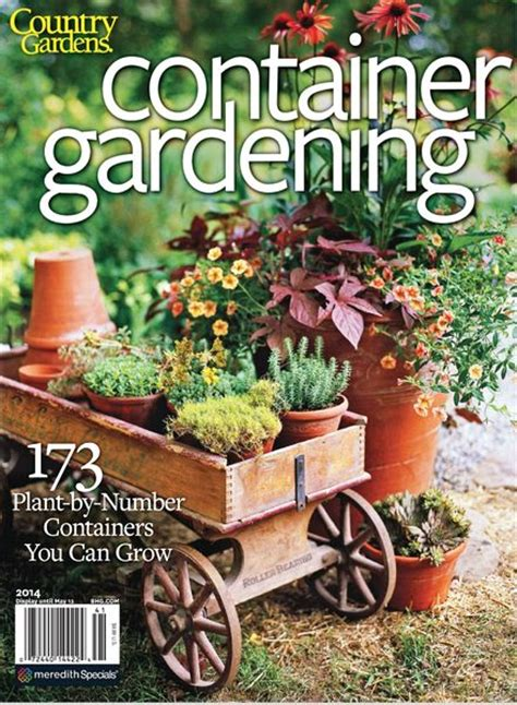 download better homes and gardens container gardening 2014
