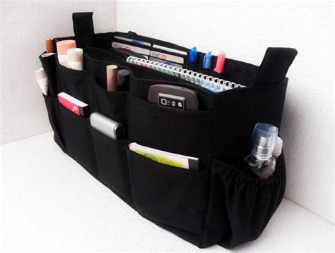 Padded Bag Organizer large purse organizer with laptop padded compartment
