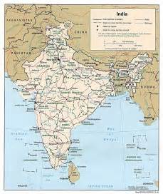 Map Of India And Surrounding Countries by Physical Map Of India And Surrounding Countries