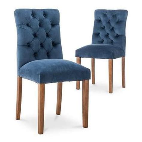 brookline tufted dining chair navy christopher home marianne grey velvet dining chair