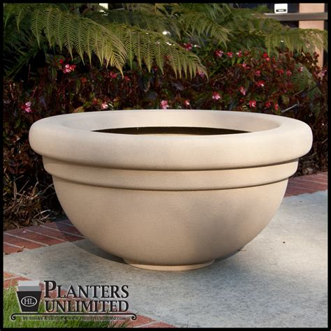 Commercial Indoor Planters by Bowl Shaped Large Commercial Fiberglass Planters Outdoor Or Indoor