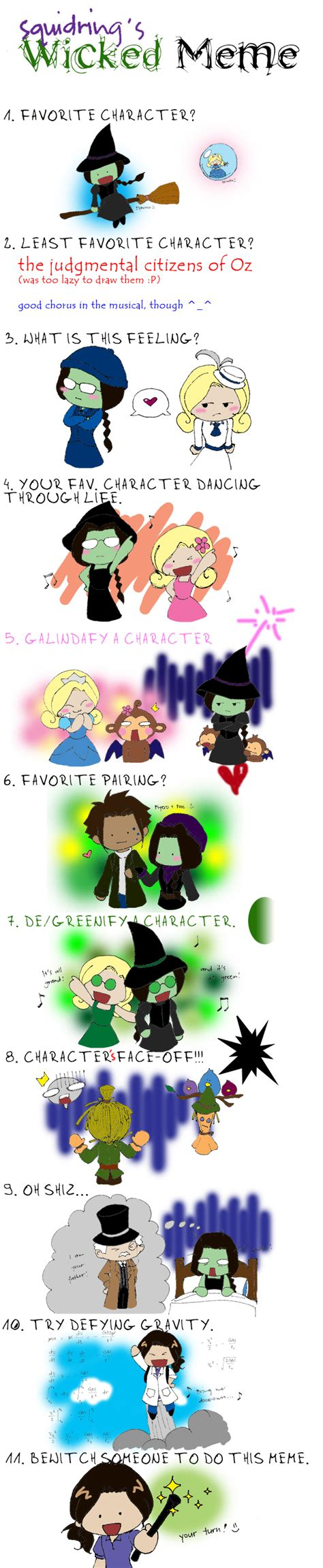 Wicked The Musical Memes - wicked meme by squidring on deviantart