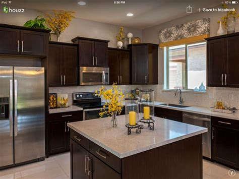 kitchen dark cabinets light granite dark cabinets with light granite