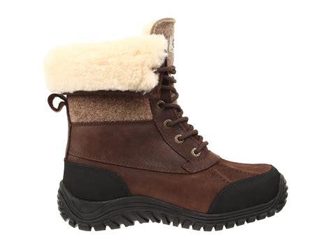 ugg adirondack boot ii stout leather zappos free