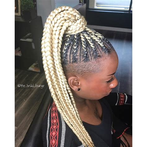 28 best black braided hairstyles to try in 2018