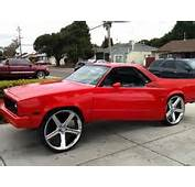 85 Chevy El Camino  Pro Touring Muscle Cars Pinterest
