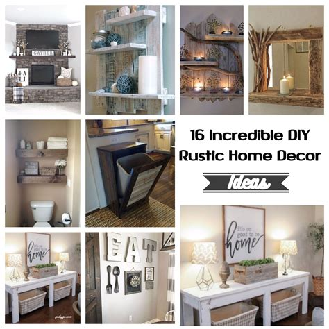 incredible diy rustic home decor ideas godiygocom