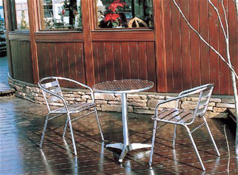 Arumi Set アルミテーブル丸 アルミチェアーの事なら どこよりも低価格のハローガーデンへ