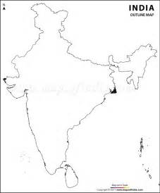 Blank Outline Political Map Of India by India Physical Map India Map Worldphysical Map 第10页 点力图库