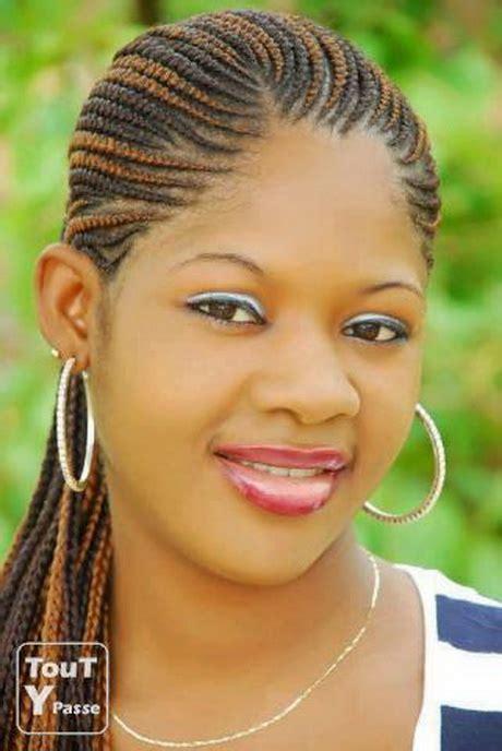 Natte Collé Africaine Model