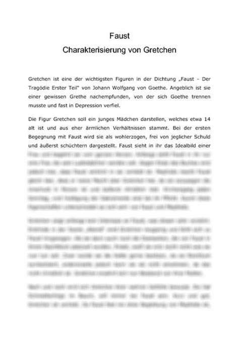 Charakterisierung Schreiben Muster Charakterisierung Englisch Schreiben